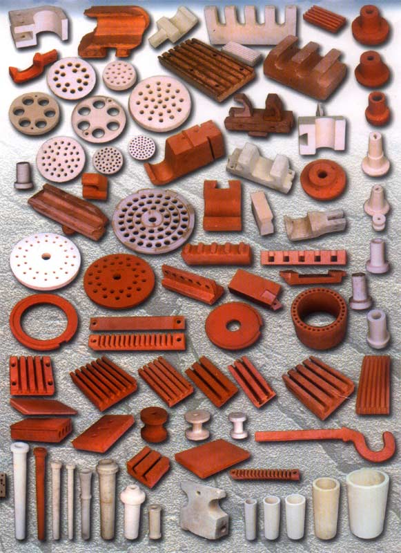 Examples of bespoke bricks, ceramic an terracotta products