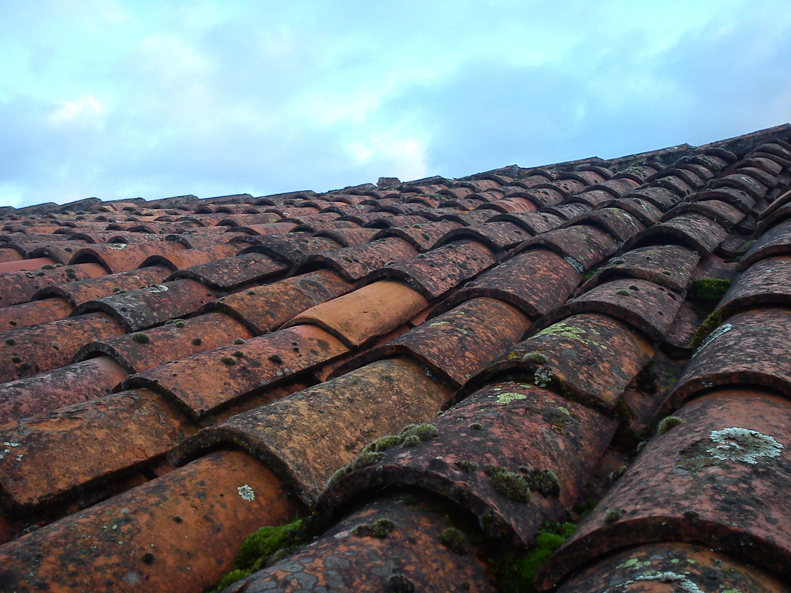 New Traditional French Clay Roof Tiles 2 Tile System