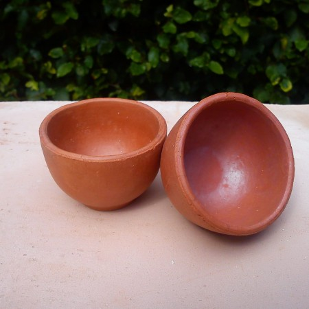 Unglazed Disposable Kulhar / Clay Cup No.1