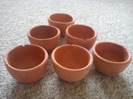 Clay Tea Cups (Kulhars) SECONDS - Special Offer