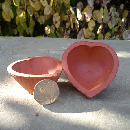 Diya No.7 – Heart Diya