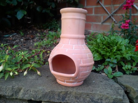 Brick Motif Chiminea