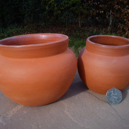 Glazed Food Pots
