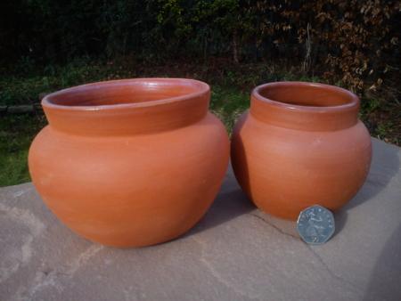 Glazed Food Pots