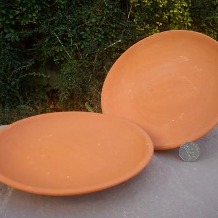 Small Terracotta Dinner Plate
