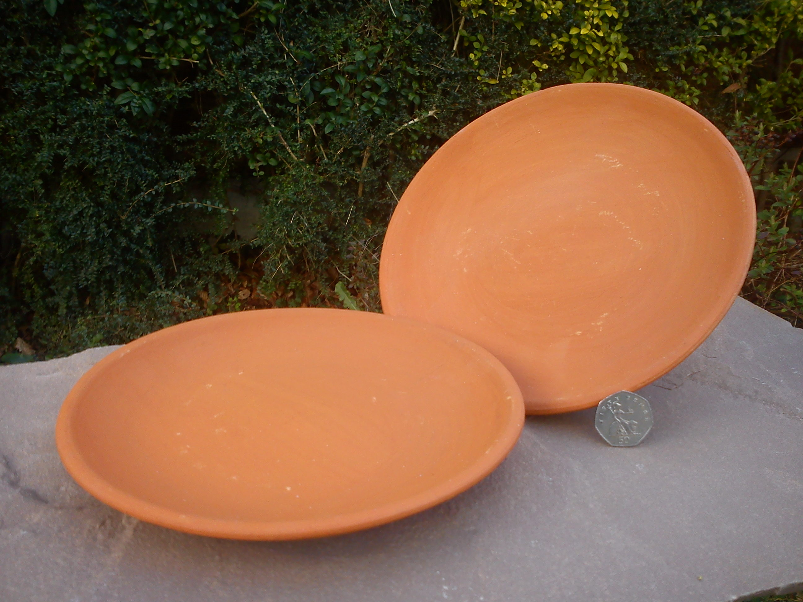 Small Terracotta Dinner Plate & Small Terracotta Dinner Plate - Terracotta World