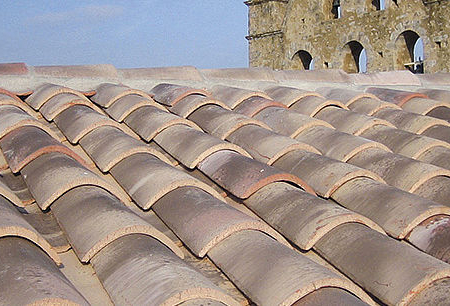 New traditional french spanish clay roof tiles 2 tile for Spanish clay tile roof