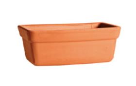 Clay planter trough or window box