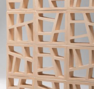 Screen block wall with 'Randomize' blocks